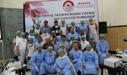 Pelaksanaan Functional Neurosurgery Course and Cadaver 2013